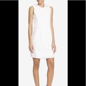 Ralph Lauren White Denim Shift Dress